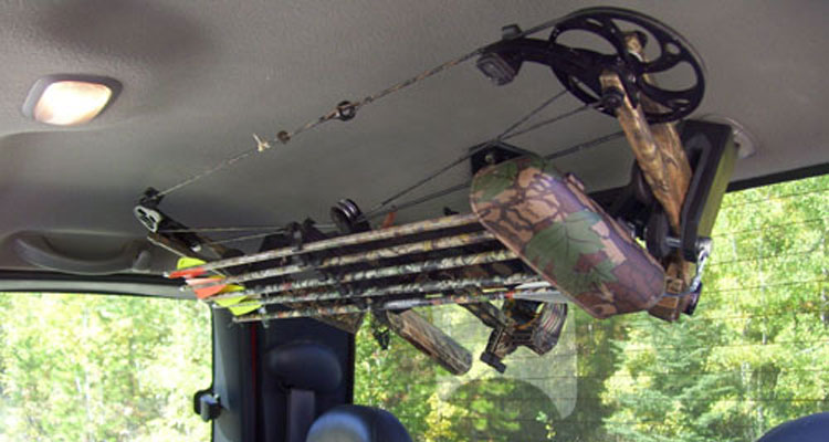 roof mount bow rack